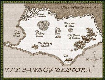 Deltora Map